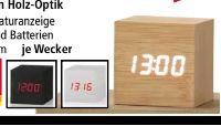 Design-Wecker von Chronique