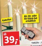 LED-Christbaumkerzen von Tween Light