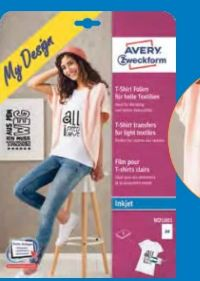 Textilfolie von Avery Zweckform