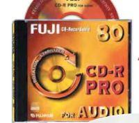 CD-DVD-Rohlinge von Fujifilm