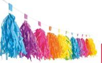 Wimpelkette Farbenspie von Decor Service