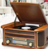 Stereo-Nostalgie Komplett Anlage von Denver