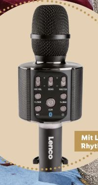Bluetooth Karaokemikrofon von Lenco