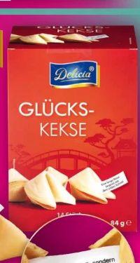 Glückskekse von Delicia