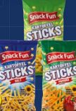 Kartoffel-Sticks von Snack Fun