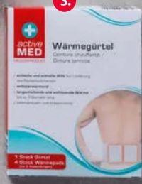 Spezial-Wärmepflaster von Active Med