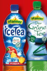 Eistee von Pfanner