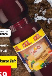 Johannisbeer-Zitronensirup von Solevita
