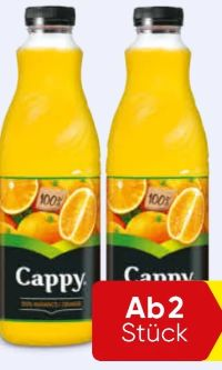 Orangensaft von Cappy