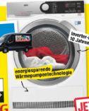 Wärmepumpentrockner T8DE76585 von AEG