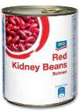 Kidney Bohnen von Aro