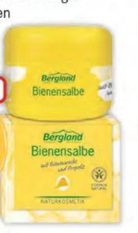 Bienenkosmetik von Bergland