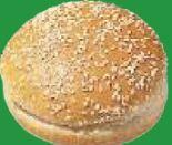 Hamburger Brötchen Sesam von Edna's Bakery