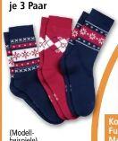 Damen-Hütten-Socken von Toptex