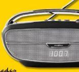 Tragbares Retro-Radio RDFM5310BK von Nedis