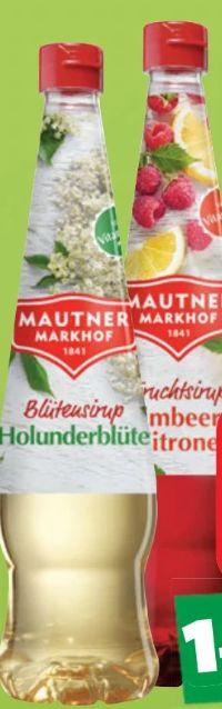 Sirup von Mautner Markhof
