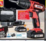 Li-Ionen Akku-Schlagbohrschrauber-Set von Kraft Werkzeuge