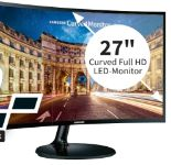 Full HD LED-Monitor LC27F390FHUXEN von Samsung