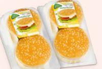 Cheese-Chickenburger von Chef Menü