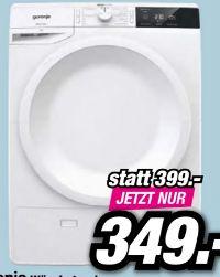 Kondensations-Wäschetrockner DE8B von Gorenje