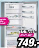 Kühl-Gefrierkombination KG49EAICA von Siemens