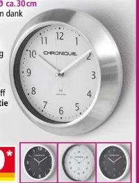 Funkwanduhr von Chronique