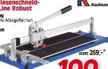 Platten-Fliesenschneidmaschine Top Line Robust von Kaufmann