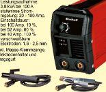 Inverter-Schweißgeräte TC-IW 110 von Einhell