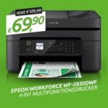 Multifunktions-Drucker WorkForce WF-2830DWF von Epson