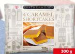 4 Caramel Shortcakes von Hatherwood