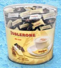 Schokolade-Kübel von Toblerone
