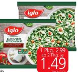 Blattspinat von Iglo