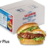 Hitburger Hamburger Plus von Salomon Food World
