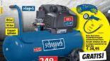 Doppelzylinder-Kompressor HC53DC von Scheppach