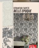 Strukturprofiltapete Belle Epoque