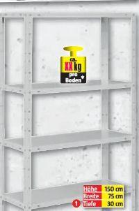 Stahl-Schraubregal von Regalux