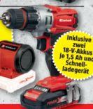 Akku-Bohrschrauber TE-CD 18-2 Li Kit von Einhell