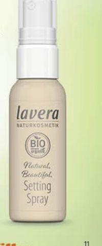 Setting Spray von Lavera