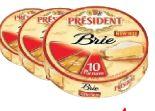 Brie Portionen von President