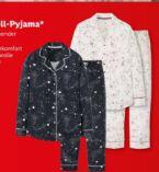 Damen Flanell-Pyjama von Esmara
