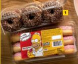 Simpsons Donut von Merkur Markt Backshop