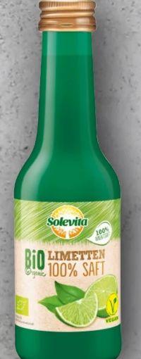 Bio-Limetten Saft von Solevita