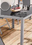 Aluminium-Gartentisch von Florabest