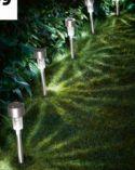 LED-Solarleuchten von Livarno Lux