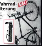 Fahrrad-Wandhalterung von Top Velo