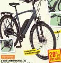E-Bike Entdecker 20.EST.10 von Prophete