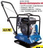 Benzin-Rüttelplatte HP1200S von Scheppach