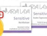 Sensitive Tagescreme von Arya Laya