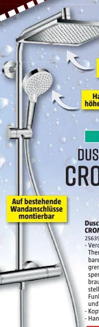 Duschsystem Crometta E 240 von Hansgrohe