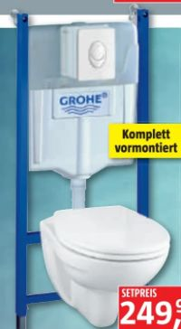 Wand-WC Montageelement Solido Compact-Set von Grohe